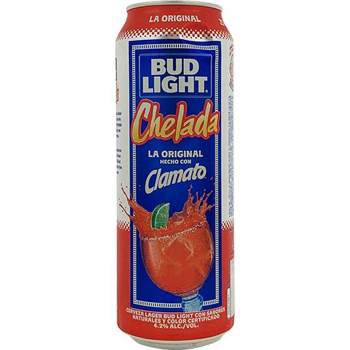 Bud Light & Clamato Chelada