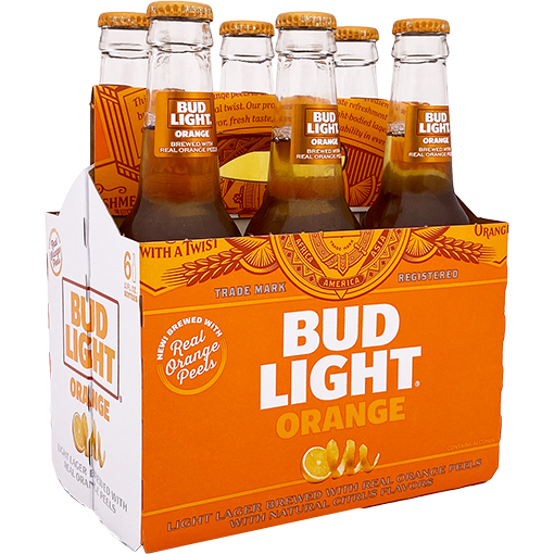 Bud Light Orange