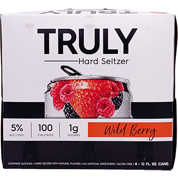 Truly Hard Seltzer Wild Berry