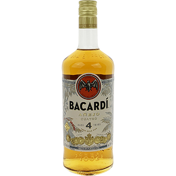 Bacardi Anejo Cuatro 4 Year Old Rum