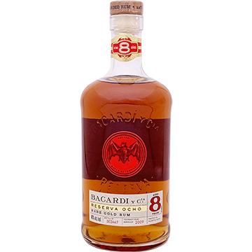 Bacardi Reserva Ocho 8 Year Old Rum