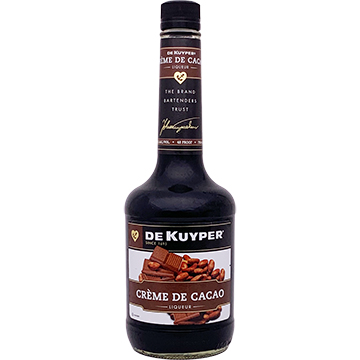 DeKuyper Creme de Cacao Dark Liqueur