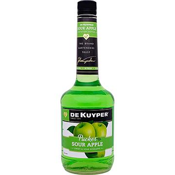 DeKuyper Sour Apple Pucker Schnapps Liqueur