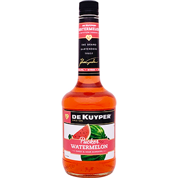 DeKuyper Watermelon Pucker Schnapps Liqueur