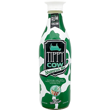 Tippy Cow Shamrock Mint Cream Liqueur