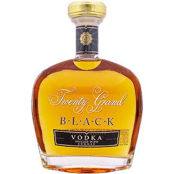 Twenty Grand Black Vodka Infused with Cognac