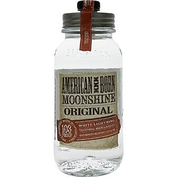 American Born Original Moonshine Whiskey