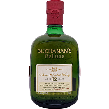 Buchanan's DeLuxe 12 Year Old Blended Scotch Whiskey