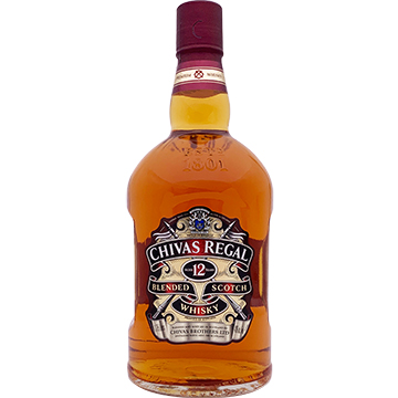 Chivas Regal 12 Year Old Blended Scotch Whiskey