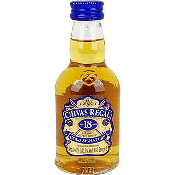 Chivas Regal 18 Year Old Blended Scotch Whiskey
