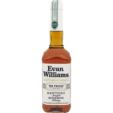 Evan Williams White Label Bottled in Bond Bourbon Whiskey