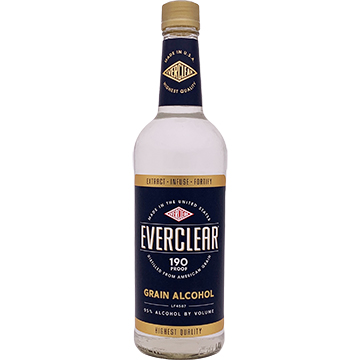 Everclear 190 Proof Grain Alcohol