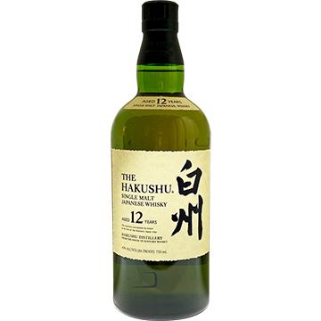 The Hakushu 12 Year Old Single Malt Japanese Whiskey