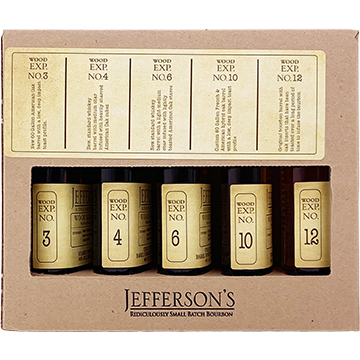 Jefferson's Wood Experiment Collection Bourbon Whiskey