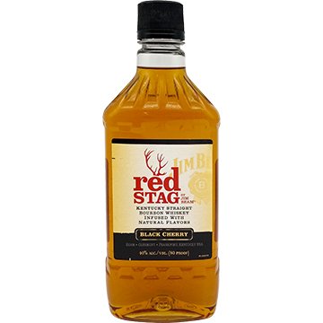 Jim Beam Red Stag Black Cherry Bourbon Whiskey