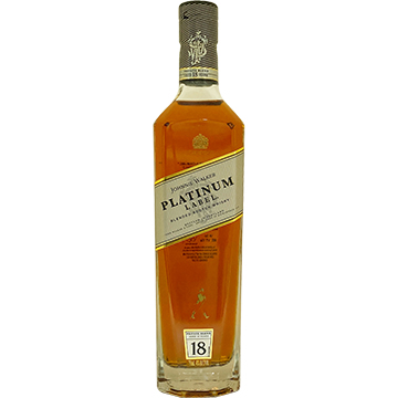 Johnnie Walker Platinum Label 18 Year Old Blended Scotch Whiskey