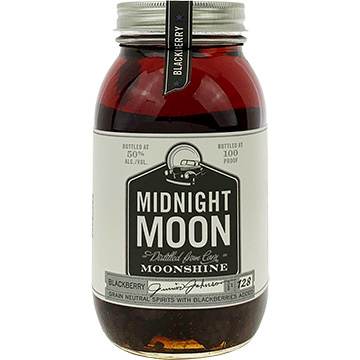 Junior Johnson Midnight Moon Blackberry Whiskey