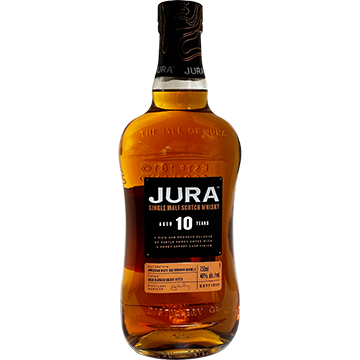 Jura 10 Year Old Single Malt Scotch Whiskey