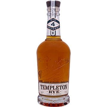 Templeton 4 Year Old Rye Whiskey