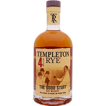 Templeton 4 Year Old Rye Whiskey