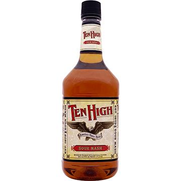 Ten High Kentucky Straight Sour Mash Bourbon Whiskey