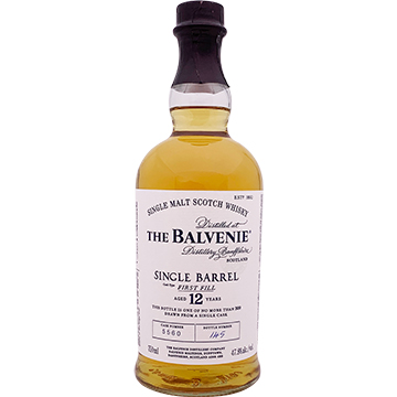 The Balvenie Single Barrel 12 Year Old Single Malt Scotch Whiskey