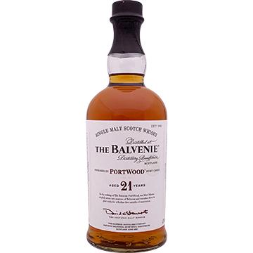 The Balvenie Portwood 21 Year Old Single Malt Scotch Whiskey