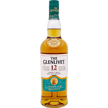 The Glenlivet 12 Year Old Single Malt Scotch Whiskey