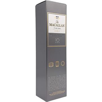The Macallan Fine Oak 10 Year Old Single Malt Scotch Whiskey