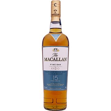The Macallan 15 Year Old Triple Cask Matured Single Malt Scotch Whiskey