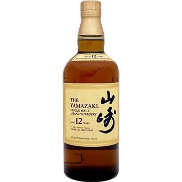 Yamazaki 12 Year Old Single Malt Whiskey