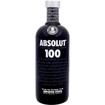 Absolut 100 Proof Black Vodka