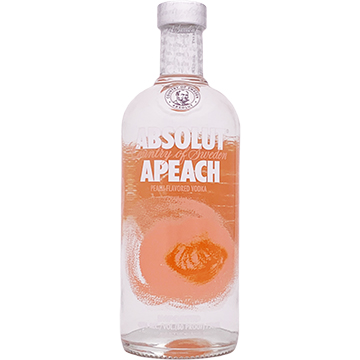 Absolut Apeach Vodka