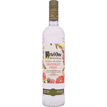Ketel One Botanical Grapefruit and Rose Vodka