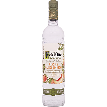 Ketel One Botanical Peach and Orange Blossom Vodka