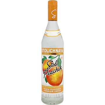 Stolichnaya Peachik Vodka