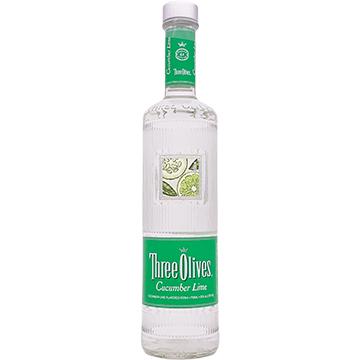 Three Olives Cucumber Lime Vodka
