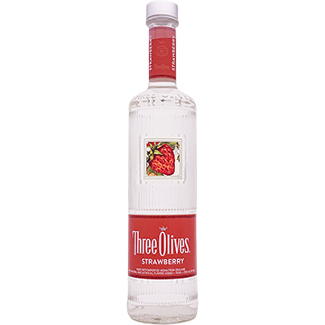 Three Olives Strawberry Vodka