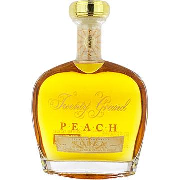 Twenty Grand Peach Vodka Infused with Cognac