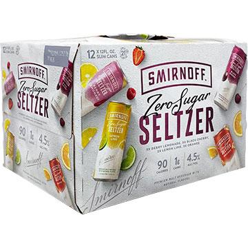 Smirnoff Zero Sugar Seltzer Variety Pack
