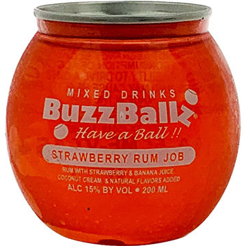 Buzzballz Strawberry Rum Job