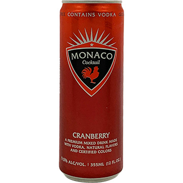 Monaco Cranberry Cocktail