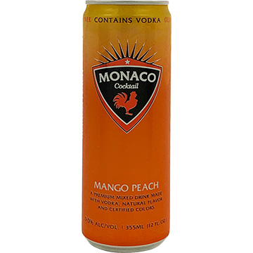 Monaco Mango Peach Cocktail