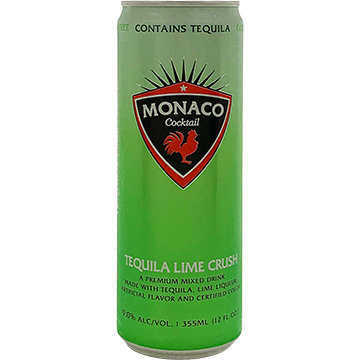 Monaco Tequila Lime Crush Cocktail