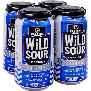 Destihl Wild Sour Series Blueberry Gose