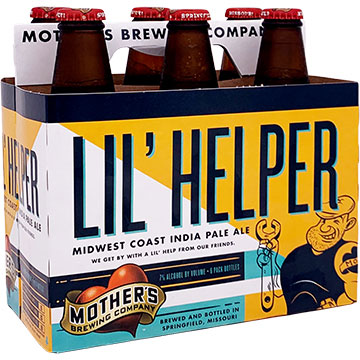 Mother's Brewing Lil' Helper Midwest Coast IPA