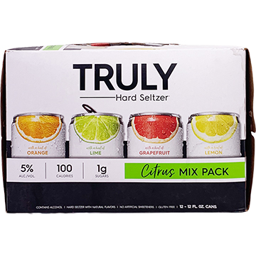 Truly Hard Seltzer Citrus Mix Pack