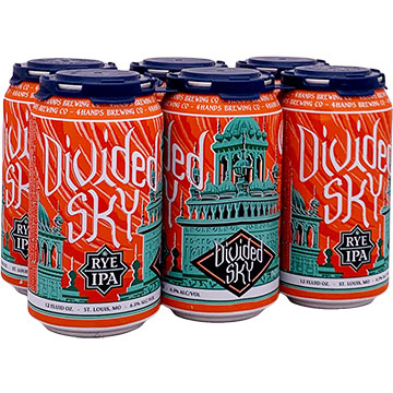 4 Hands Divided Sky Rye IPA
