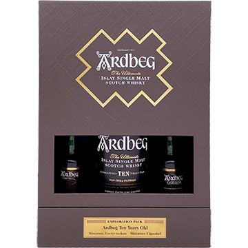 Ardbeg 10 Year Old Islay Single Malt Scotch Whiskey Exploration Pack