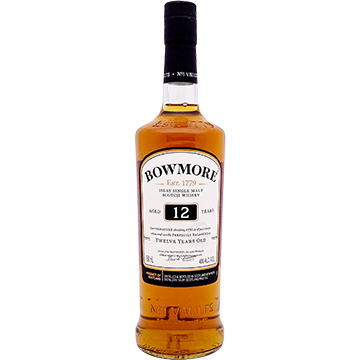 Bowmore 12 Year Old Single Malt Scotch Whiskey
